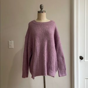 Super soft oversized sweater